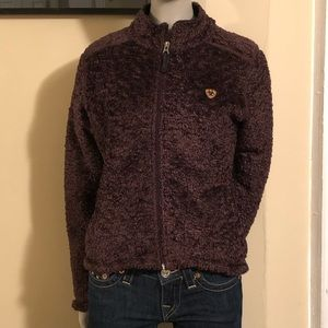 Deep Plum Color Ariat Fleece!